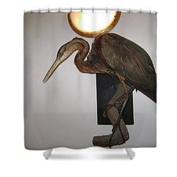 Stuffed Bird Shower Curtain