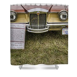 Stutz Blackhawk Shower Curtain by Thomas Young