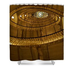 Stylish Staircase Shower Curtain by Patricia Twardzik