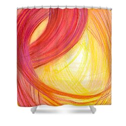 Sublime Design-v2 Shower Curtain by Kelly K H B