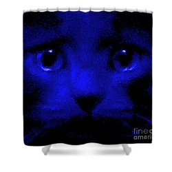 Subliminal Wake Up Call Shower Curtain by Elizabeth McTaggart