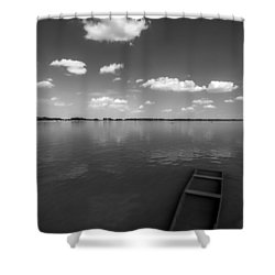 Submerged Shower Curtain by Davorin Mance