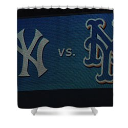 Subway Series Shower Curtain by Richard Bryce and Family