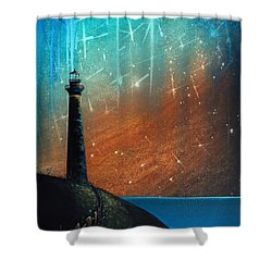Such A Night As This Shower Curtain