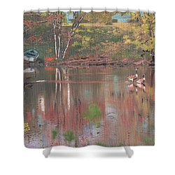 Sudbury River Shower Curtain
