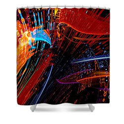 Sudden Celebration Shower Curtain