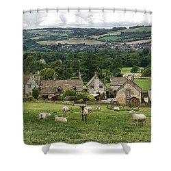Sudeley Hill Farm Shower Curtain