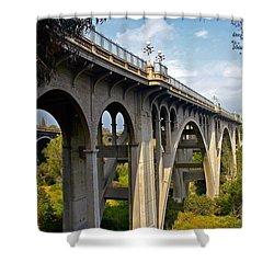 Suicide Bridge Shower Curtain
