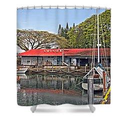 Suisan Fish Market Shower Curtain
