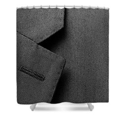 Suit Texture Shower Curtain