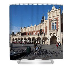 Sukiennice, The Renaisssance Cloth Shower Curtain by Panoramic Images