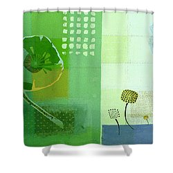 Summer 2014 - J103112106eggr2 Shower Curtain by Variance Collections