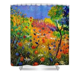 Summer 2014 Shower Curtain by Pol Ledent