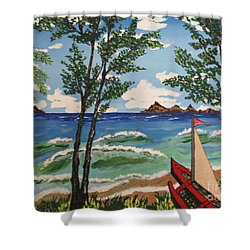 Summer Breeze Shower Curtain by Jeffrey Koss