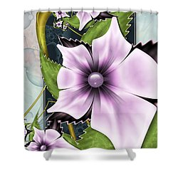 Summer Charm Shower Curtain