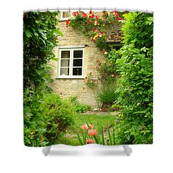 Summer Cottage Shower Curtain