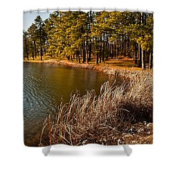 Shower Curtain featuring the photograph Summer Cove by Greg Jackson