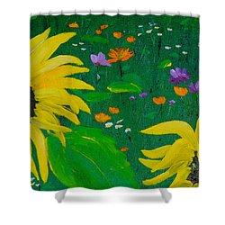 Summer Dance Shower Curtain