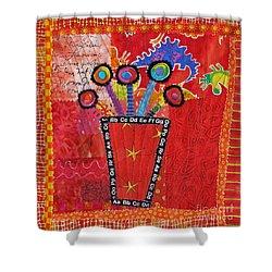 Summer Dance Shower Curtain by Susan Rienzo