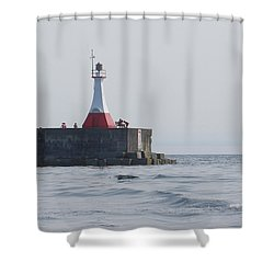 Shower Curtain featuring the photograph Summer Day by Marilyn Wilson