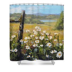 Summer Daydream Shower Curtain