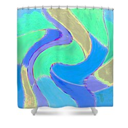 Hot Summer Nights Shower Curtain