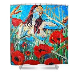 Summer Dream 1 Shower Curtain by Ana Maria Edulescu