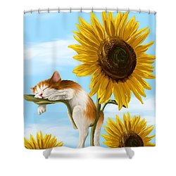 Summer Dream Shower Curtain by Veronica Minozzi