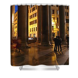 Summer Evening In Rome Shower Curtain