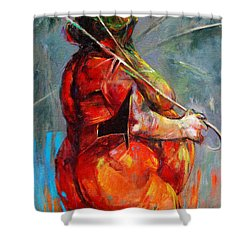 Summer Fantasy Shower Curtain by Michal Kwarciak