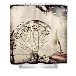 Shower Curtain featuring the photograph Summer Fun by Trish Mistric