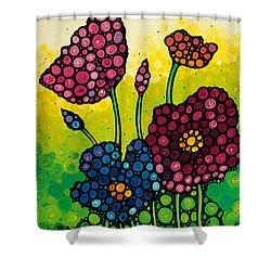 Summer Garden 2 Shower Curtain by Sharon Cummings