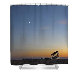 Summer In The Hamptons Shower Curtain