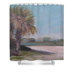 Summer Island Shower Curtain