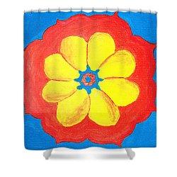 Summer Mandala Shower Curtain