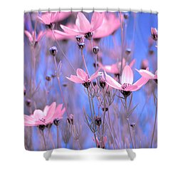 Summer Meadow Shower Curtain by Tommytechno Sweden