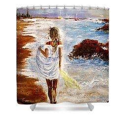 Summer Memories Shower Curtain