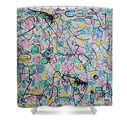 Summer Of '81 Shower Curtain by Mini Arora