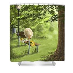 Summer Paradise Shower Curtain