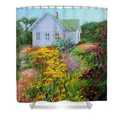 Summer Place- On The Outer Banks Shower Curtain