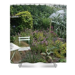 Shower Curtain featuring the photograph Summer Retreat by Richard Reeve