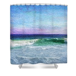 Summer Salt Shower Curtain
