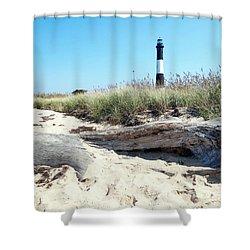 Shower Curtain featuring the photograph Summer Scene by Ed Weidman