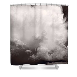 Summer Storm Shower Curtain by Steve Gadomski