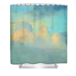 Summer Sunset Shower Curtain by Robyn King