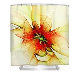 Summer Thoughts Shower Curtain by Anastasiya Malakhova