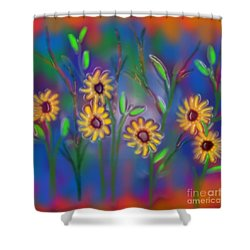 Summer Time Sadness Shower Curtain by Latha Gokuldas Panicker