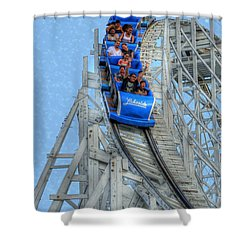 Summer Time Thriller Shower Curtain