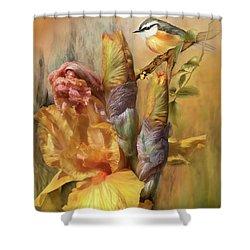 Summer Wonders Shower Curtain by Carol Cavalaris