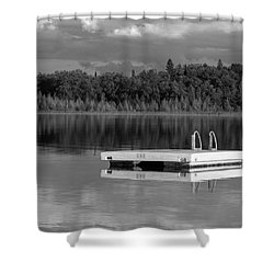 Summertime Reflections Shower Curtain by Don Spenner